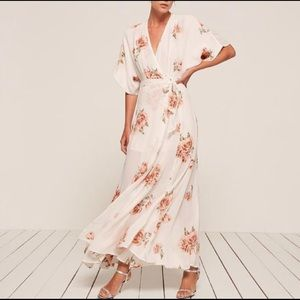 The Reformation Winslow Maxi Dress - Sz XS